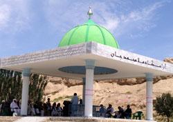"""آرامگاه """" ملا محمد جان """" عارف مشهور بلخ شناسایی و عمارت شد"""
